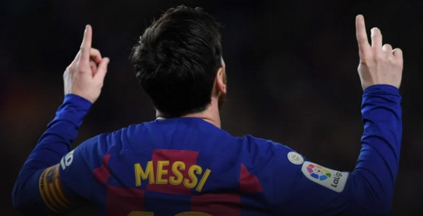 """10 records of """"Lionel Messi"""" with Barcelona"""