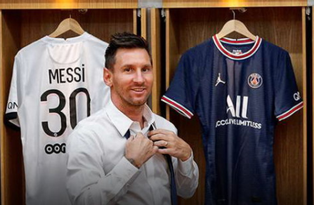 Open the salary of Messi after joining PSG